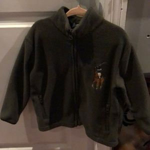 Ralph Lauren adorable fleece sweater show stopper